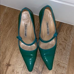 Manolo blahnik Mary Jane heels